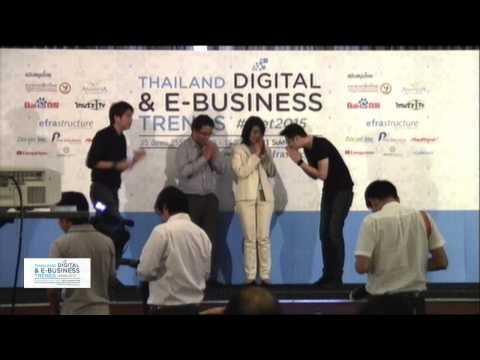 Thailand Digital  &  E-Business Trends #TDET 2015