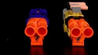 Nerf Elite Barrel Break vs Standard Barrel Break Comparison Video