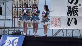 2016.6.11 Team8 能登よさこい祭りの様子です (北玲名、橋本陽菜、長久...