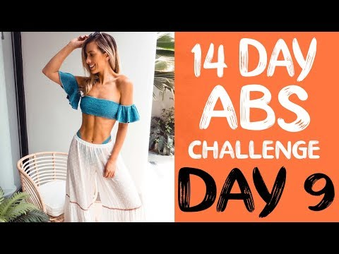 14 DAY ABS CHALLENGE | Workout 9 | Abs & Arms