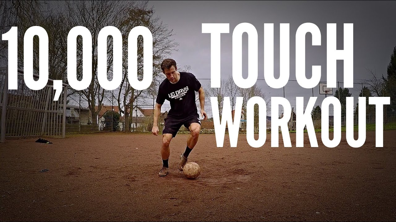 10,000 Touch Soccer/Football Workout