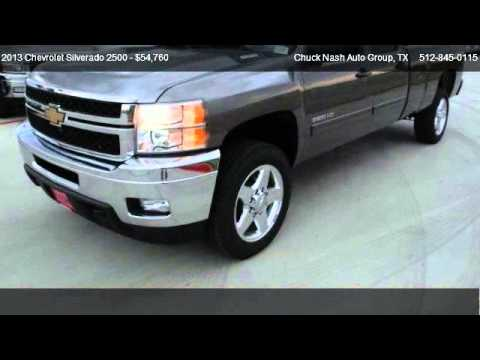 2013 chevrolet silverado 2500 lt for sale in san marcos tx 78667 youtube. Black Bedroom Furniture Sets. Home Design Ideas