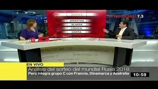 Análisis del sorteo del Mundial Rusia 2018