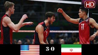Iran vs USA | 2018 Volleyball Nations League Men