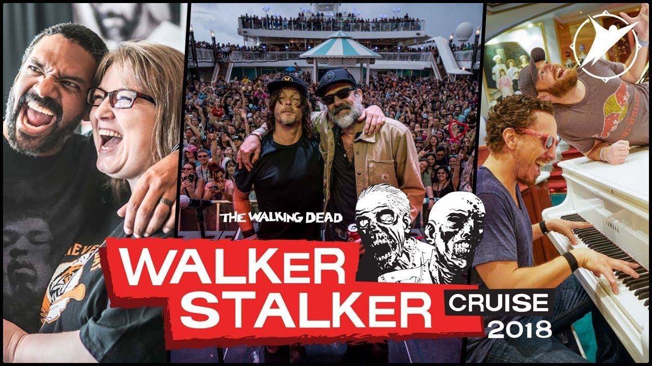 Walker Stalker Cruise 2020.The Best Highlights From The 2018 Walker Stalker Cruise