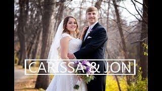 Jon & Carissa wedding at First Lutheran Church in Minot ND By: pricelessstudio.com