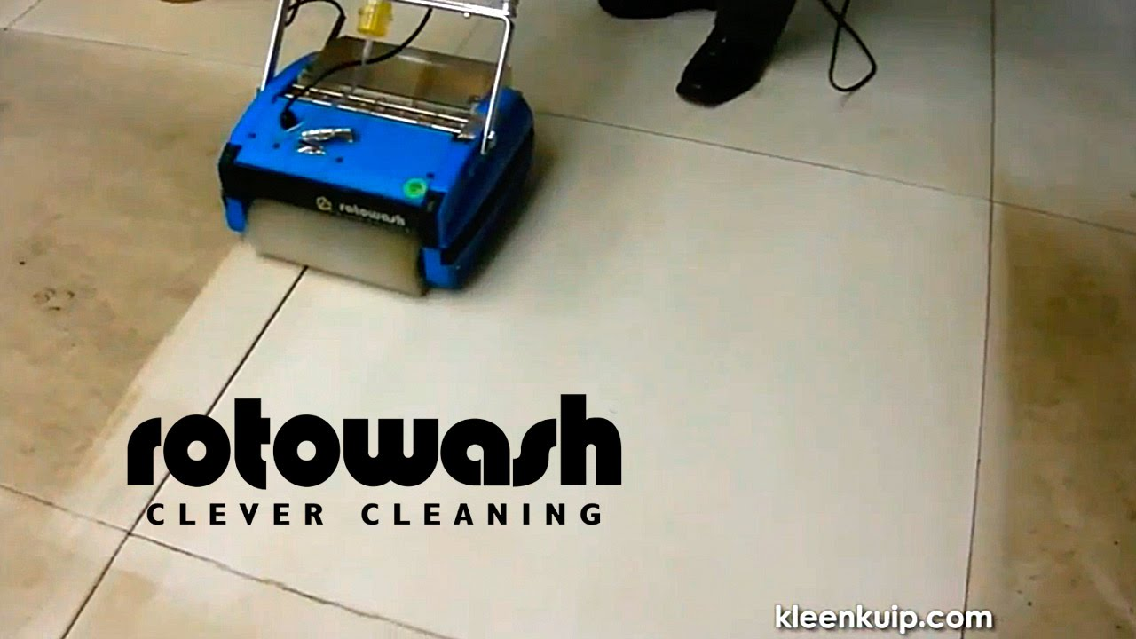 Hard Surface Floor Cleaner Machine Rotowash Carpet
