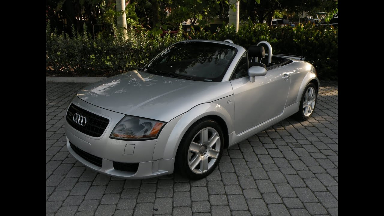 2004 Audi Tt Convertible 32 Quattro For Sale Auto Haus Of