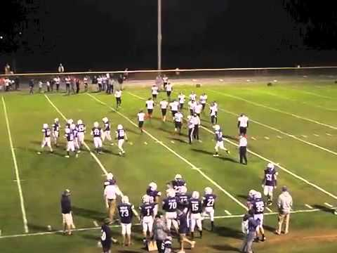 Ticonderoga - AuSable Valley Varsity Football  10-10-14