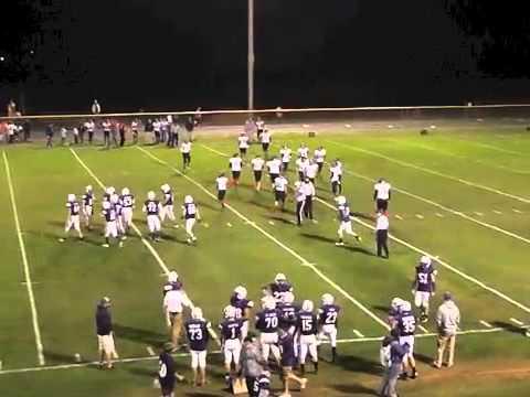 AuSable Valley Varsity Football  10-10-14