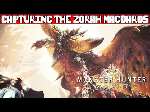 Zorah Magdaros Boss Fight MONSTER HUNTER WORLD