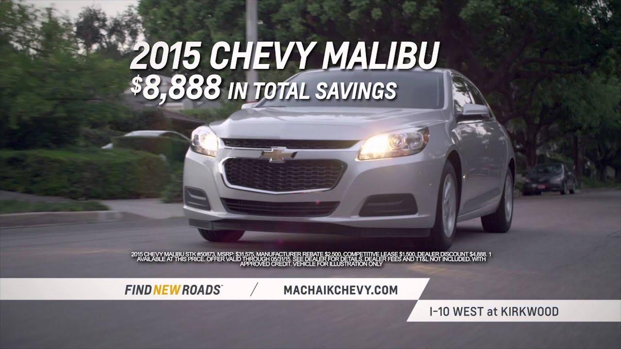 New 2015 Chevy Malibu  Mac Haik Chevrolet