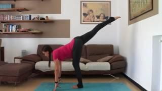 Силовое и балансовое упражнение для беременных. Идеально во 2 триместре .