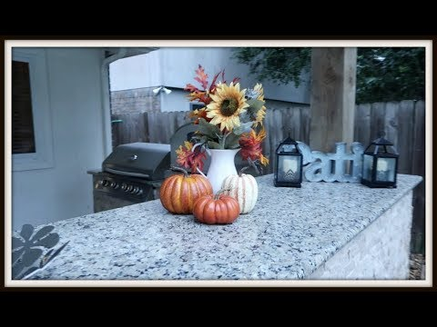 Weekly Vlog  Fall crafts  Texas sized Steaks and Coffee Pressesssesss