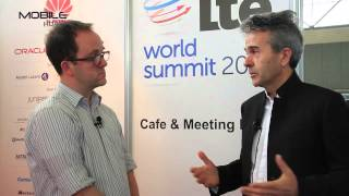 LTE World Summit - Interview with Orange's Pierre Francois Dubois