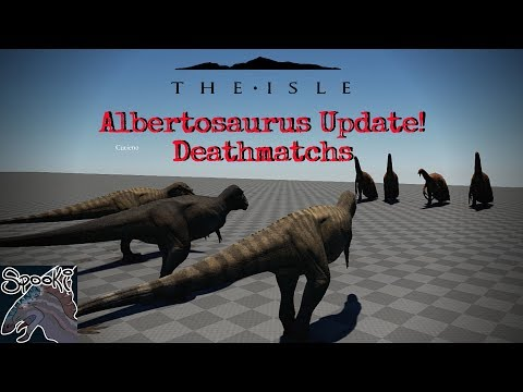 The Isle NEW: Albertosaurus Update! Alberto and Other Dino Deathmatchs
