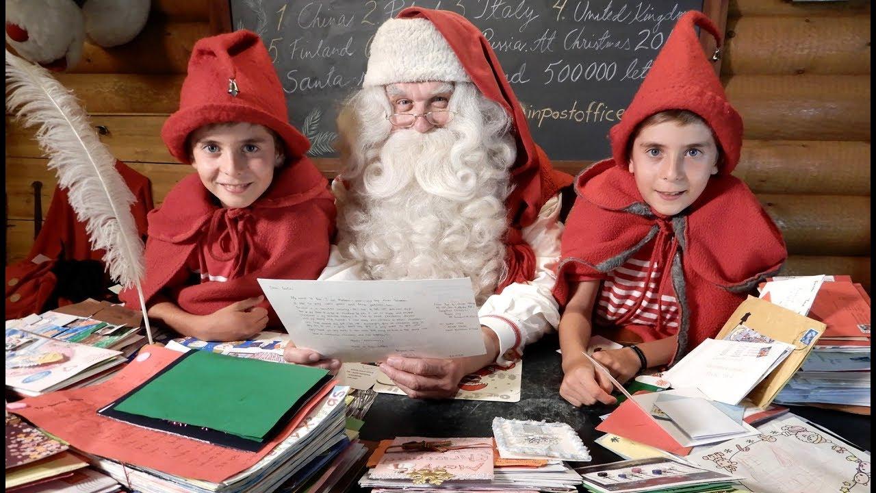 Indirizzo Di Babbo Natale Lapponia.L Indirizzo Di Babbo Natale Lapponia Per I Bambini Finlandia