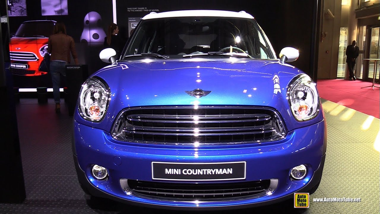 2015 mini cooper countryman exterior and interior walkaround 2014 paris auto show youtube. Black Bedroom Furniture Sets. Home Design Ideas