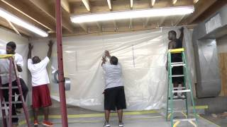 Building an Abatement Enclosure for Asbestos, Lead, Mold or Dust Control