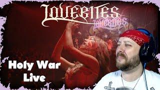 LOVEBITES / Holy War [Live at Zepp DiverCity Tokyo 2020] Reaction | Metal Musician Reacts