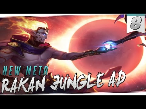 NEW META | RAKAN | Jungle AD es mejor que AP!! Claro que sí GUAPI !!