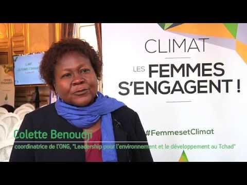 Femme et climat - interview de Colette Benoudji
