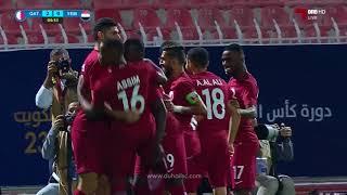 الأهداف | قطر 4 - 0 اليمن | كأس الخليج 23