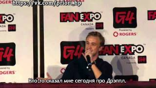 Tom Felton Q&A Fan Expo Canada [RUS SUB]