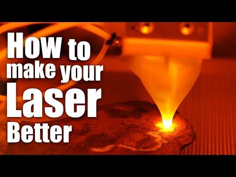 DIY Laser Cutter Air-Assist & Enclosure