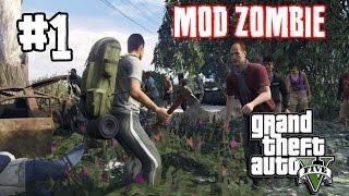 GTA V Zombie Mod[Thai] #1 ช่วย(ปล้น)ผู้รอดชีวิต