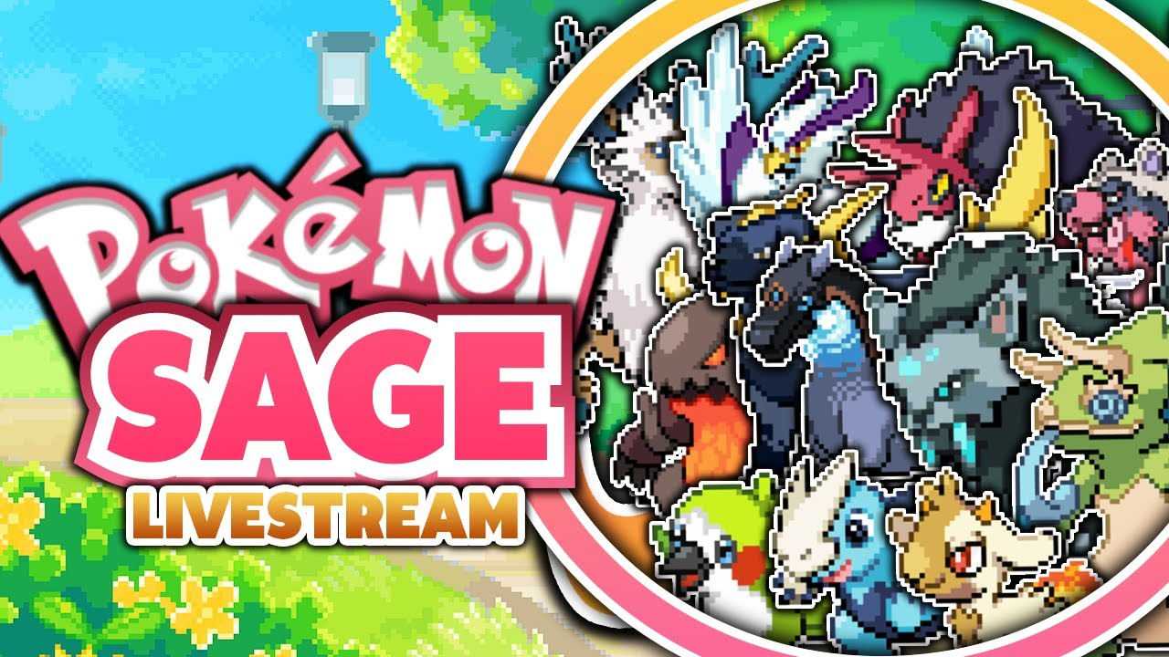 sick fakemon pokemon sage fan game livestream youtube