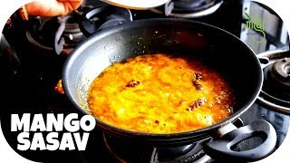 Mango Sasav Recipe | Without Coconut | Godwa