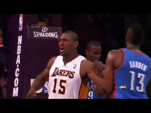 NBA Top 10 Hardest Fouls Of All Time