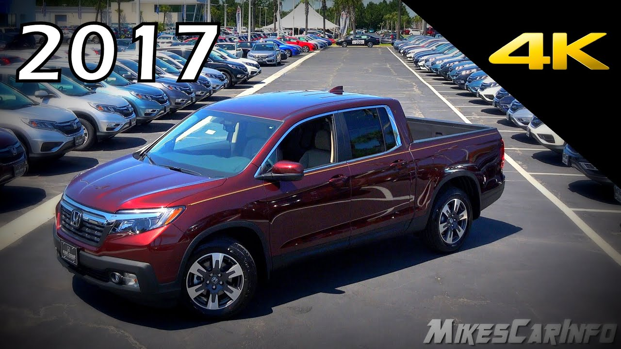 2017 Honda Ridgeline Rtl T Ultimate In Depth Look In 4k Youtube