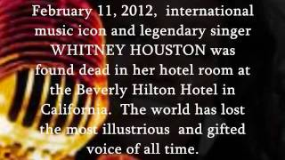 "WHITNEY HOUSTON (1963-2012):  ""MISSING U""  (Brandy/Tamia/Gladys Knight/Chaka Khan)"