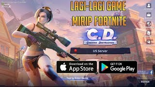 Game Mirip Fortnite, Fortcraft Ganti Nama + Upgrade - Creative Destruction (Android/iOS)