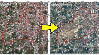Video Penampakan Foto Satelit di Lokasi 'Likuifaksi' Lumpur Bergerak Pascagempa Palu, Rumah Terseret Tanah download MP3, 3GP, MP4, WEBM, AVI, FLV Oktober 2018