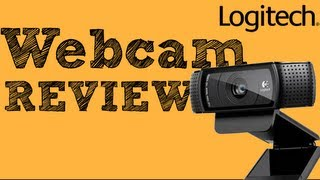 Logitech c920 Webcam REVIEW (HD Web Cam)