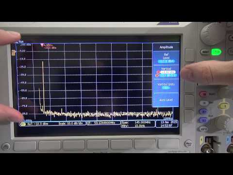 Spectrum Analyzer, Scope and FFT looking at Signals