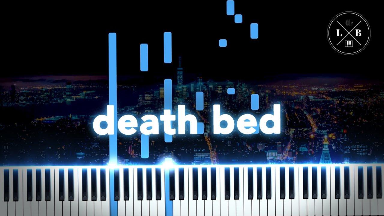 Powfu - death bed - Piano