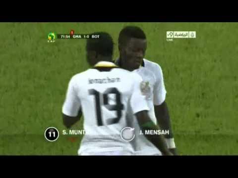 Ghana 1-0 Botswana (2nd Half)