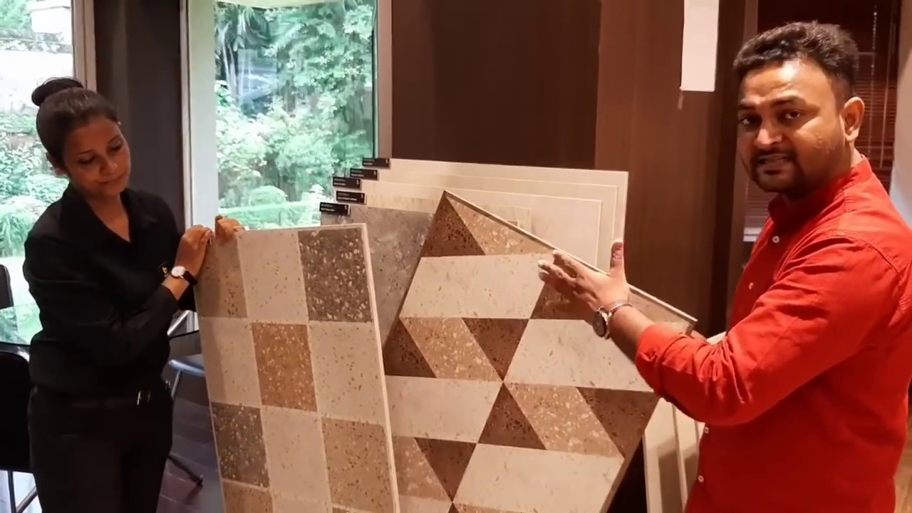 Vitrified Floor Tile Designs 2020 Big Size Vitrified Tiles For Living Dining Banquet Hall Youtube