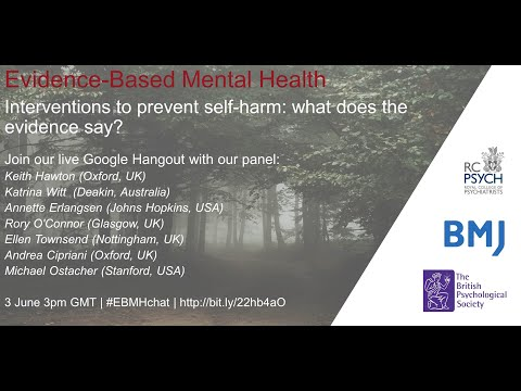 Interventions to prevent self-harm: what does the evidence say?