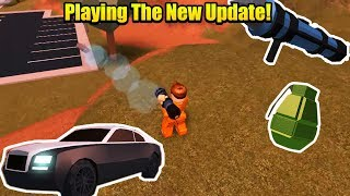 New Boss Update Of Roblox Jailbreak Is Here - New Car - New Weapon System And Much More!