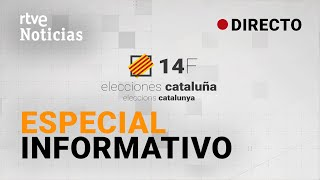 EN DIRECTO 🔴#Especial14F RTVE  ELECCIONES CATALUÑA 14F -ESPECIAL INFORMATIVO | RTVE Noticias
