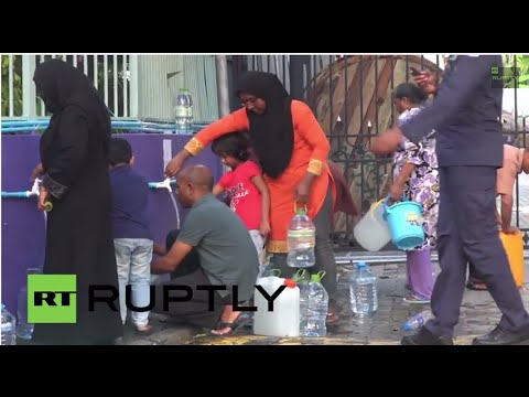 Maldives: China ships 1,000 TONNES of water to crisis-struck Maldives