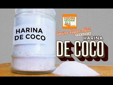 Harina de coco - Cocina Vegan Fácil