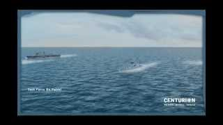 CENTURION Naval Decoy Launcher by Chemring Countermeasures