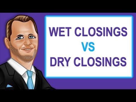 Wet Closings vs Dry Closings Florida Real Estate Investing [E-114]