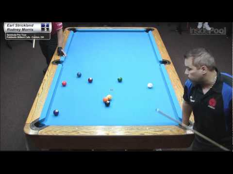 Earl Strickland vs Rodney Morris at FiddleStix Billiards Cafe